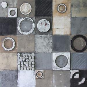 Squares II - 100 x 100 cm