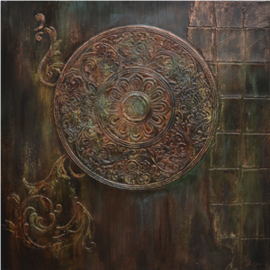 History II - 100 x 100 cm