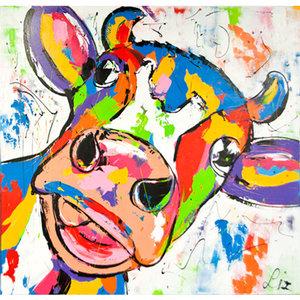Happy Cow II- 60 x 60 cm