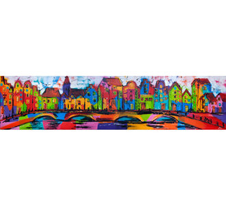 Dutch Canal- 200 x 50 cm