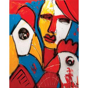 Friends III - 120 x 100 cm