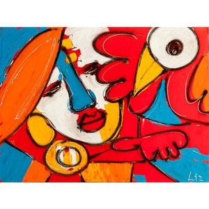 Friends- 120 x 100 cm