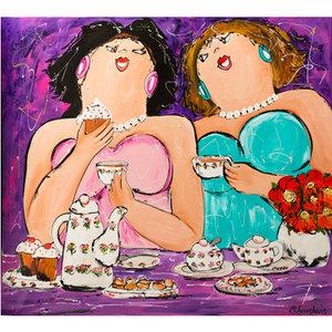 High Tea- 120 x 100 cm