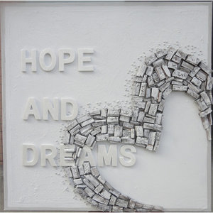 Hope and Dreams- 80x 80 cm