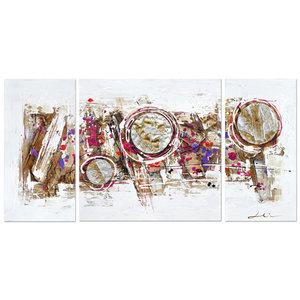 Circles of Life III - 146 x 70 cm