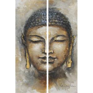 Boeddha - 40 x 120 x 2