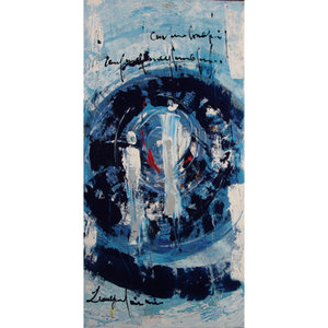 Together in Blue - 60 x 120