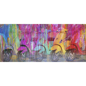 Colorful Ride - 150 x 75