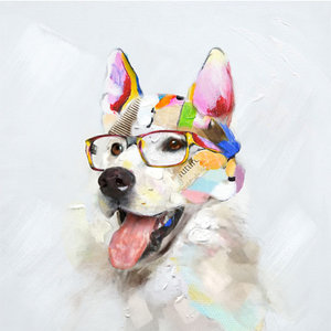 Beautiful Dog - 60 x 60