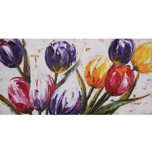 Colorful Tulips - 75 x 150