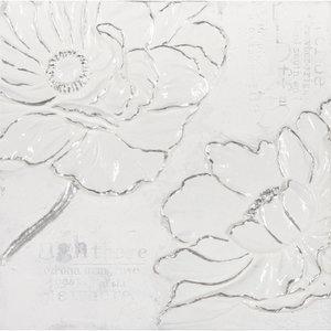 White on White V - 60 x 60