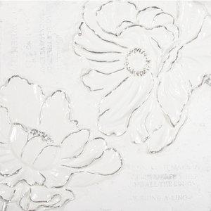 White on White IV - 60 x 60