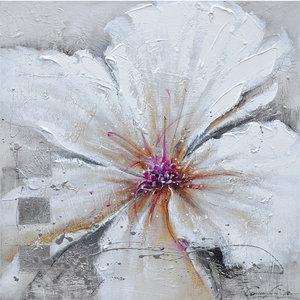White heat - 80 x 80 cm