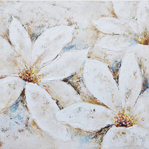 Beautiful Mystery - 80 x 80  cm
