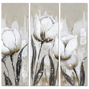 White Tulipa - 120 x 126  cm
