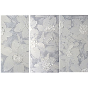 White Lelies - 50 x 100 x 3  cm