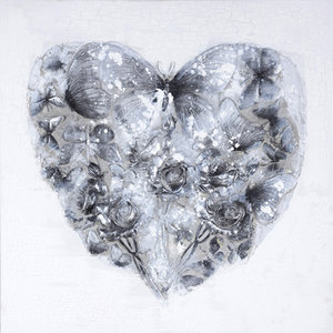 Heart Nature  - 120 x 120 cm