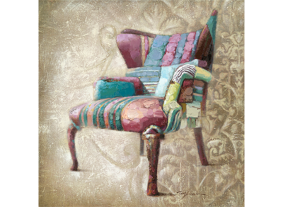 Have a Seat   - 80 x 80 cm