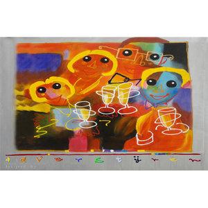 Celebration - 140 x 90  cm