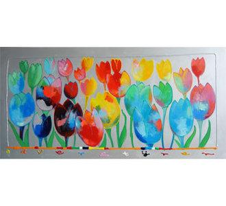 Tulpenveld -150x75 cm