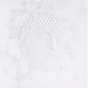 Buddha in White - 100x100 cm